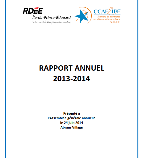 Rapport annuel maintenant disponible