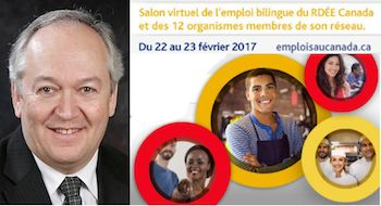 L'Île attire beaucoup d'attention lors du Salon virtuel d'emploi